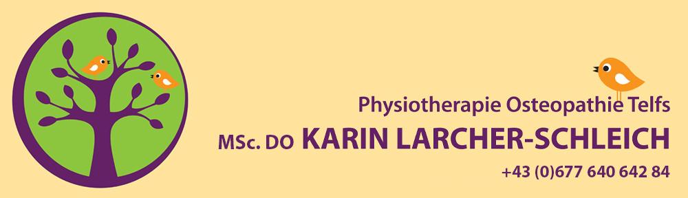Karin Larcher-Schleich / Osteopathie-Physiotherapie Telfs/Tirol